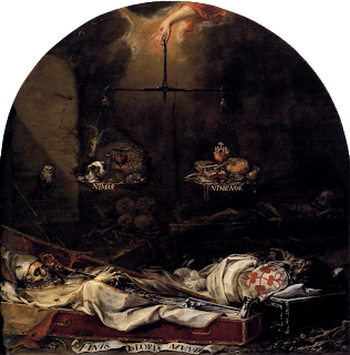Finis Gloriae Mundi de Juán de Valdés