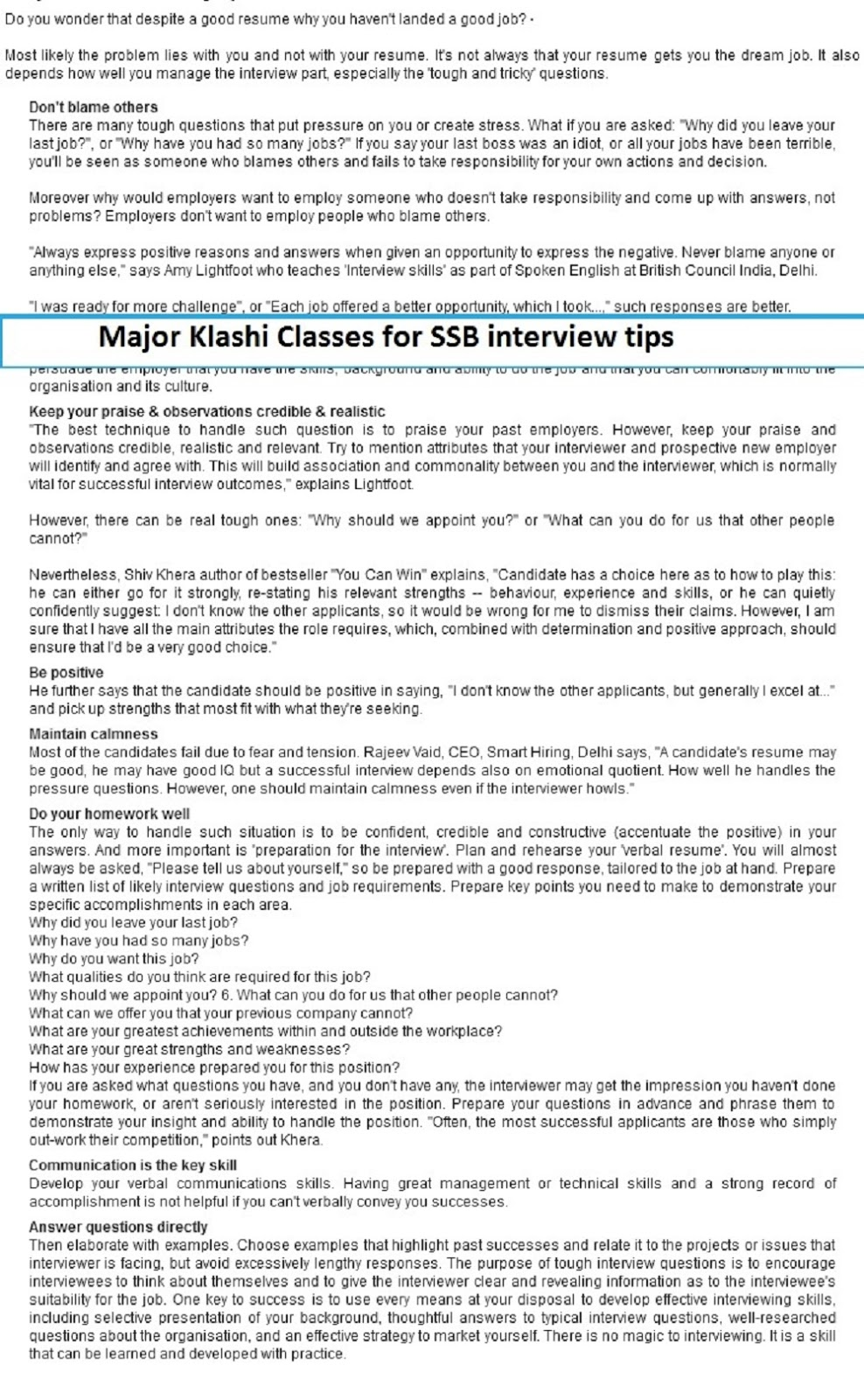 best coaching for ssb for more information at ssb interview coaching