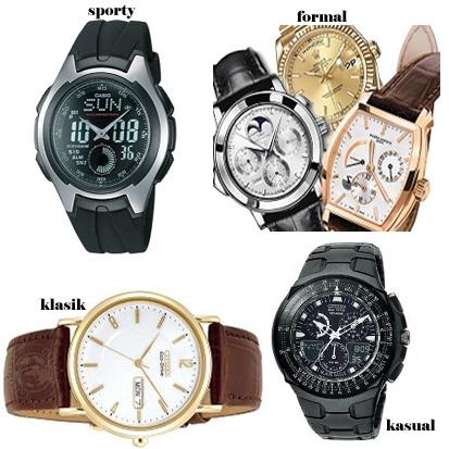 Jenis Trend Model Jam Tangan Pria dan Waktu Penggunaannya