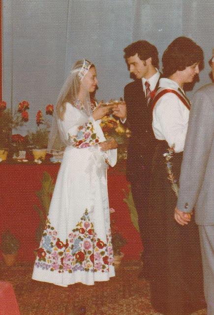 Угорське весілля 1970 ті роки