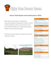 Soccer Field Report 2010