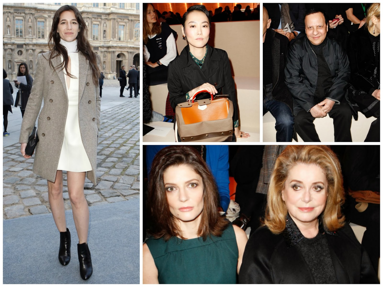 front row LV FALL 2014 gt fashion diary