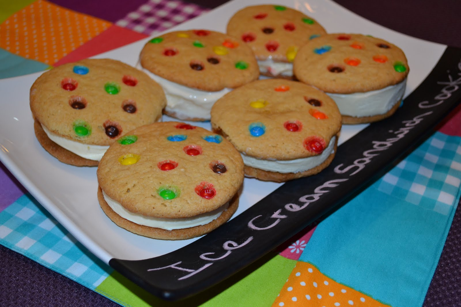 Sugar Cookie Ice Cream Sandwiches Recipe — Dishmaps