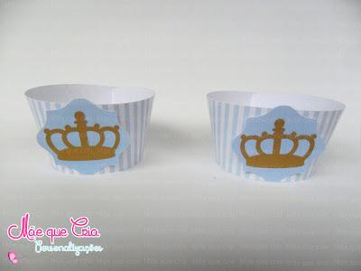 Wapper forminha cupcake coroa scrap
