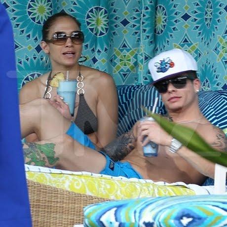 jennifer lopez e il nuovo boy toy casper smart alle hawaii