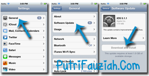 Download for iPad 1 Software Update