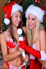 Sophia Santi A Lesbian Holiday Surprise