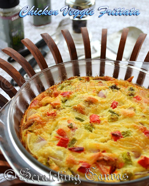 Spanish Chicken Frittata