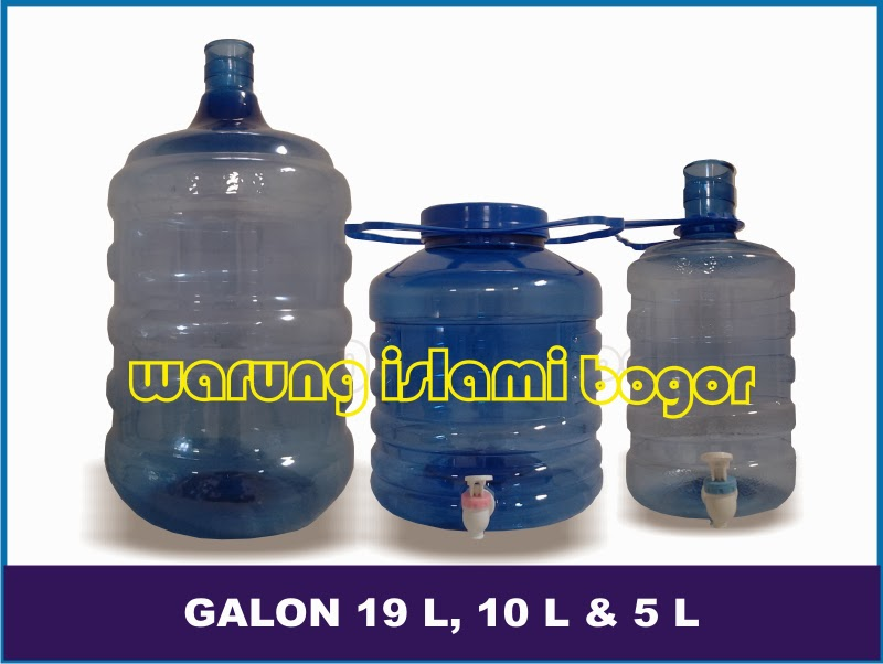 Jual Galon Air AMDK 19 Liter