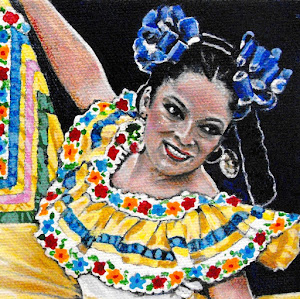 """Beautiful Mexican Dancer"""