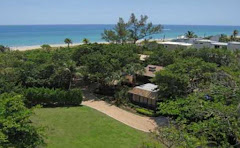 1935 CHARMING SEASIDE DELRAY COMPOUND ON 1.45 LUSH ACRES WITH 100+/ ft of unobstructed beachfront