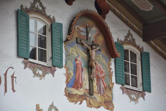 Oberammergau painting Jesus