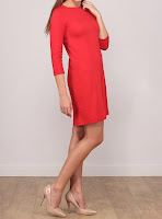 Rochie Stradivarius Dama Red Back Zipperred ( )
