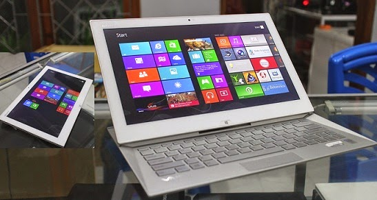 harga Jual 2nd Sony Vaio Duo 13 SVD13213SGW