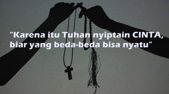 Kata kata caption instagram cinta beda agama
