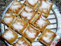 Pasteles-esplovoreados de azúcar