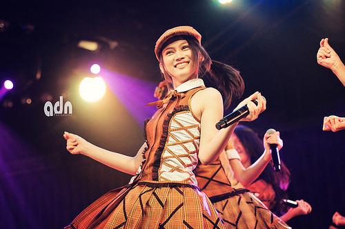 foto manis dari melody jkt48 terbaru foto manis melody jkt48