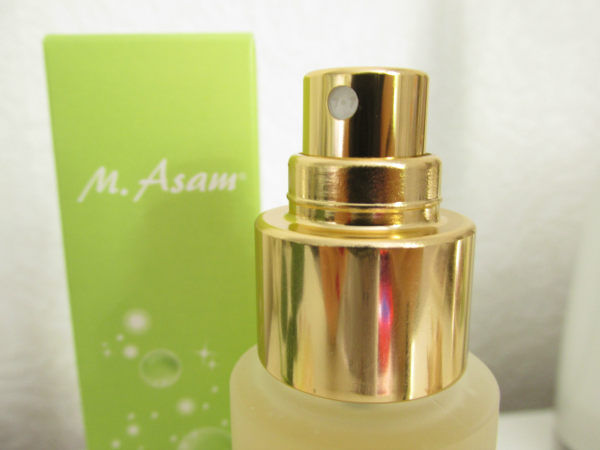 M. Asam Vino Gold Beauty Elixir Makeup Setting Spray Testbericht
