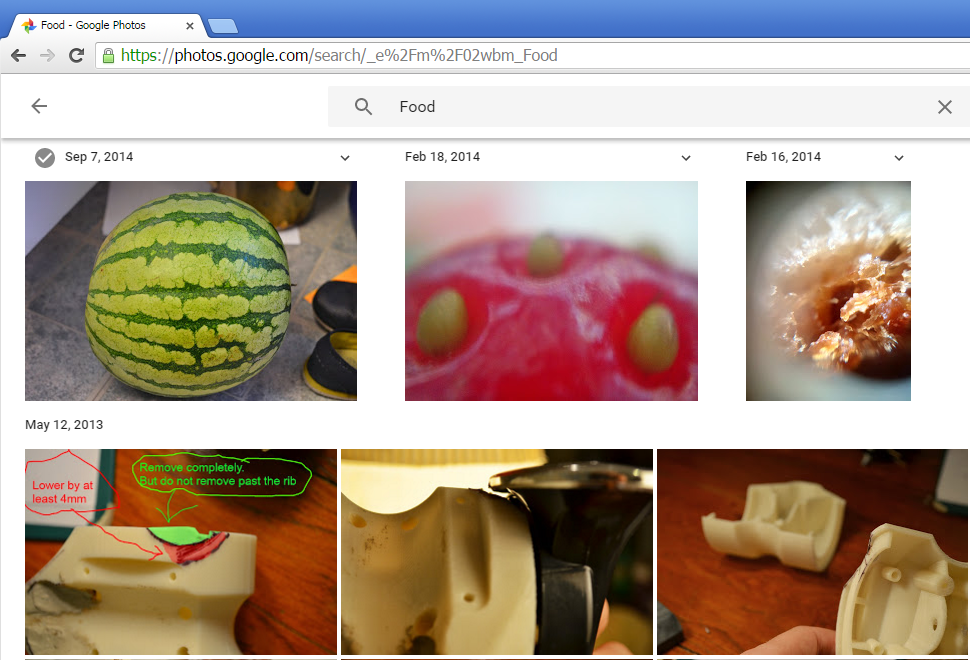 The lansey brothers blog googles food detection algorithm is it trips up a bit when it gets to what the majority of my photos contain bike horns these particular images show me digitally marking up an early 3d forumfinder Image collections