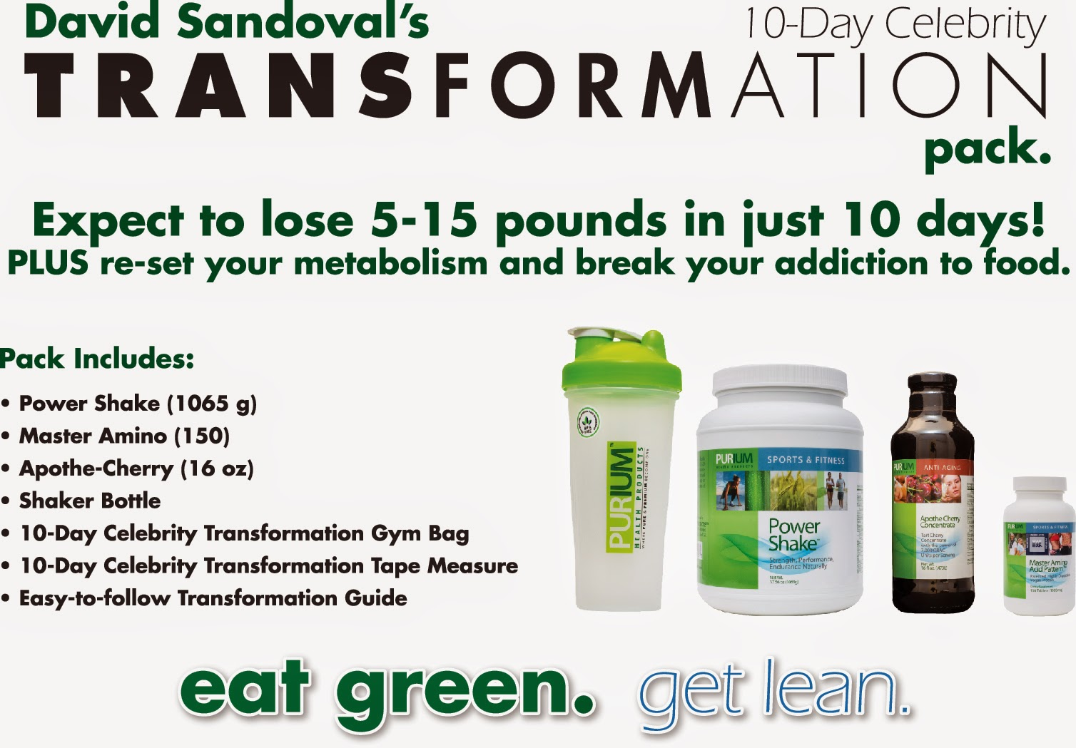 10-Day Transformation Pack