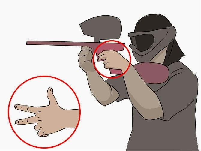 Тренировка для пальцев.