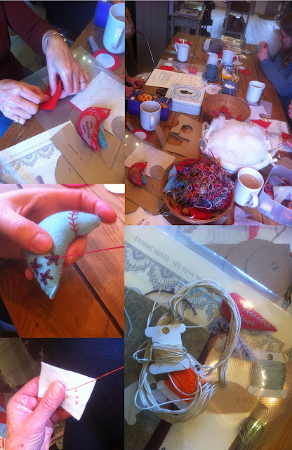 Christmas decorations course