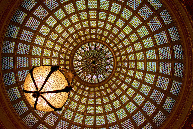 Cúpula Tiffany - Chicago Cultural Center