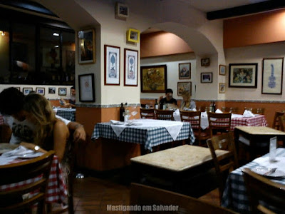 Cantina Cortile: Ambiente interno - salão inferior
