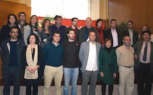 Candidatura IU Málaga elecciones andaluzas