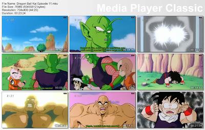 """Download Film / Anime Dragon Ball Kai Episode 11 """"Dapatkah Goku Tiba Tepat Waktu? Pertarungan Kembali Setelah 3 Jam!""""  Bahasa Indonesia"""