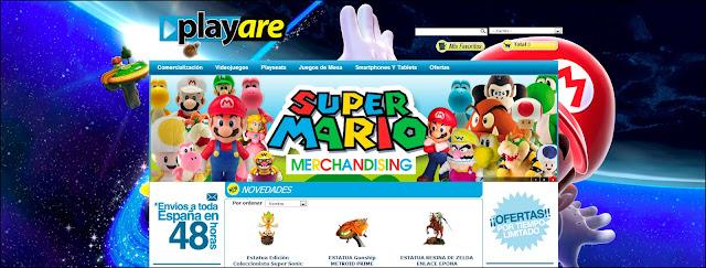 Tu web de videojuegos, consolas, accesorios y merchandising
