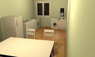 Sweet Home 3D Ruang Makan