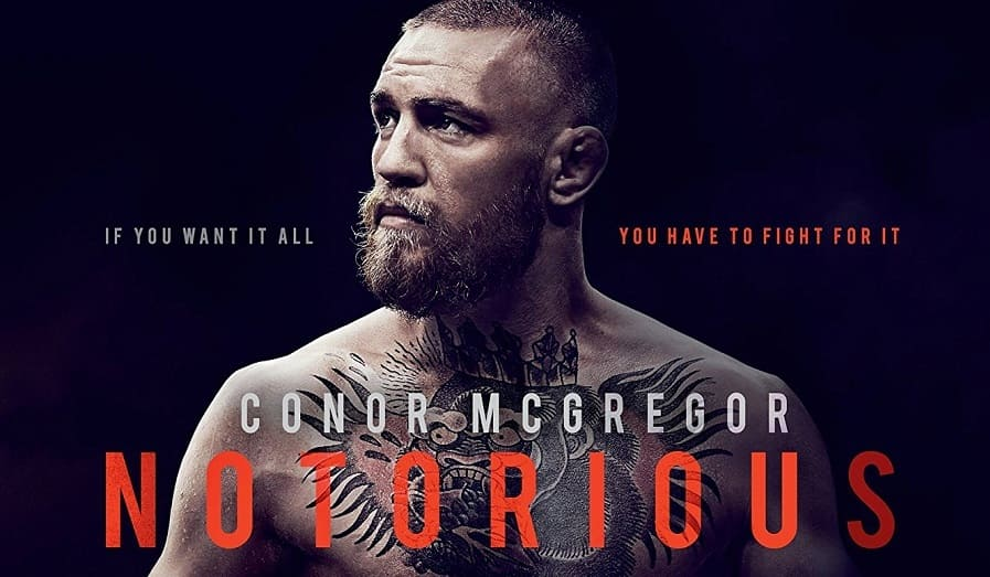 Conor McGregor - Notorious BluRay Legendado Bdrip Download Imagem