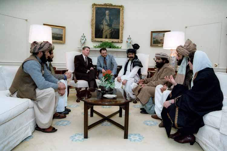 Magnificent Ronald and the Founding Fathers of al Qaeda