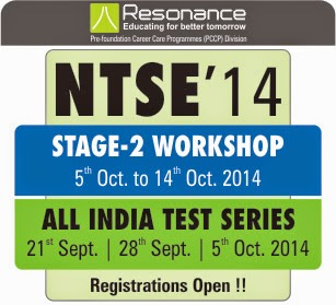 NTSE Stage 2 Workshop @ PCCP