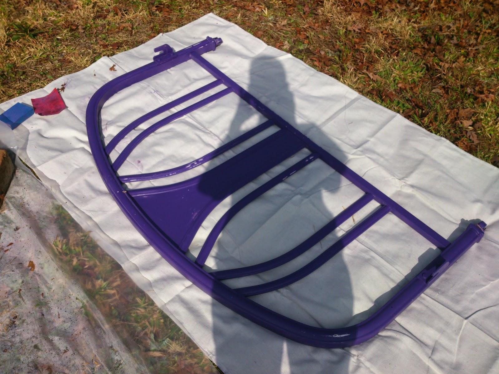 Painting Metal Bed Frame Turquoise Metal Turquoise Metal Atrisl
