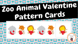 https://www.teacherspayteachers.com/Product/Zoo-Animal-Valentine-Pattern-Cards-2267019