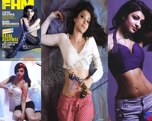 Join told Kajal agarwal cover magazine think, that