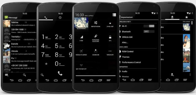 Black Infinitum Theme - Light v3.9.1 APK Free Download