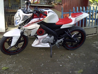 Half Fairing New Vixion Lightning (NVL) - Modifikasi Fairing Motor