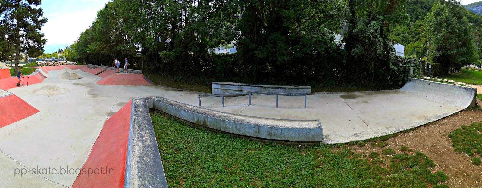 Skate park Fontaine