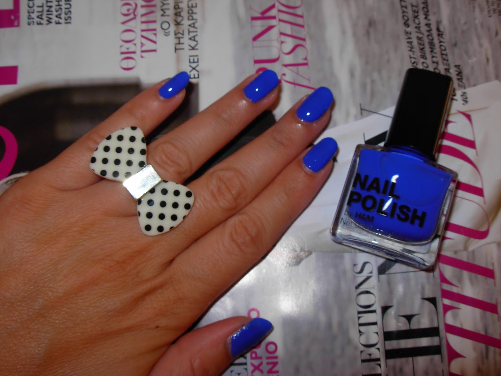 Nails 'serenity Now' H&m