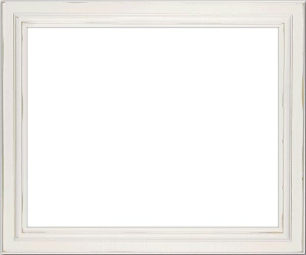 Vintage White Frame : Scrap kit - White Vintage Frames - 9 Images