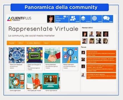 rappresentante virtuale - community