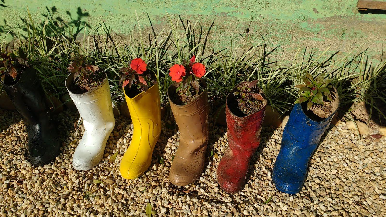 Bota flor na bota!