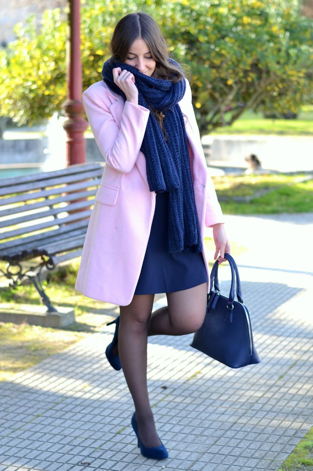 looks pink coat choies
