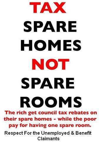 Tax spare homes!