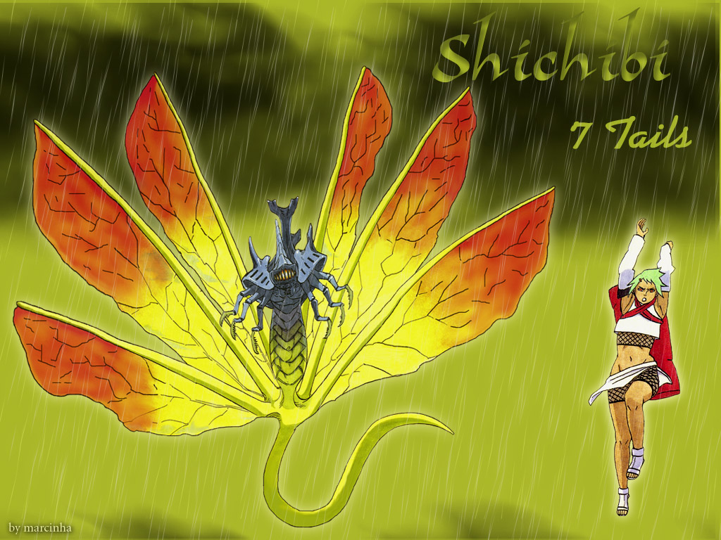 Naruto shippuden wallpapers: Shichibi