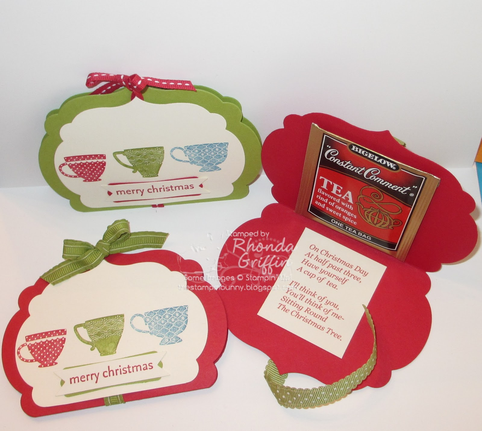 The Stampin' Bunny Projects...: Christmas Gift Class ...