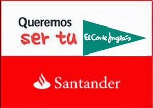 El Santander compra la financiera de El Corte Inglés